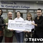 Lisa McHugh and Nathan Carter at St. Comhghall's College 01 TL low res