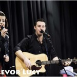 Lisa McHugh and Nathan Carter at St. Comhghall's College 02 TL low res